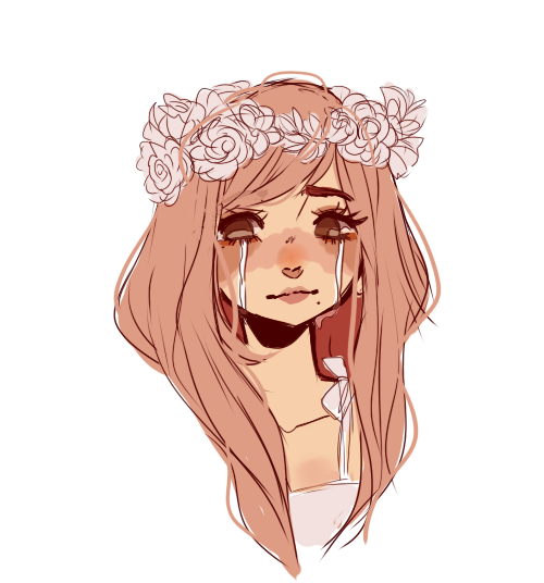 Aesthetic Anime Girl Brown Hair