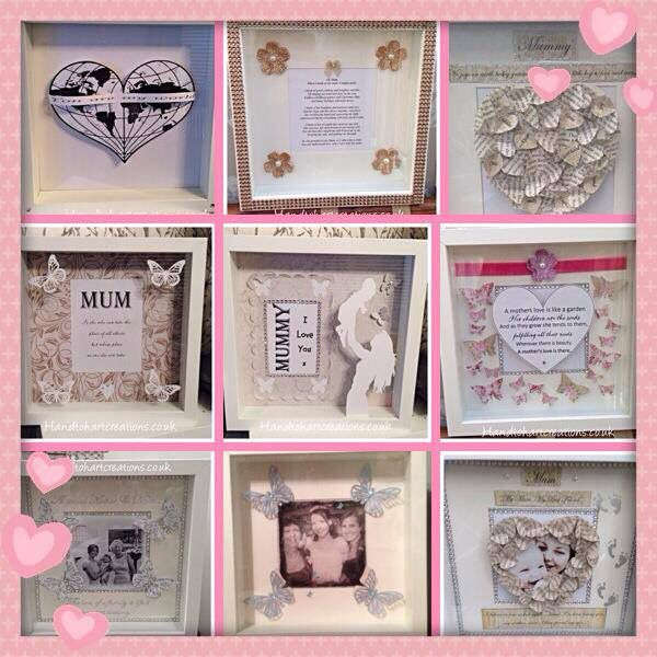 Amazing Mothers Day Gifts by the very talented Hand to Hart Creations