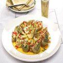 Alcachofas con vinagreta | #Recetas de cocina | #Veganas - Vegetarianas ecoagricultor.com
