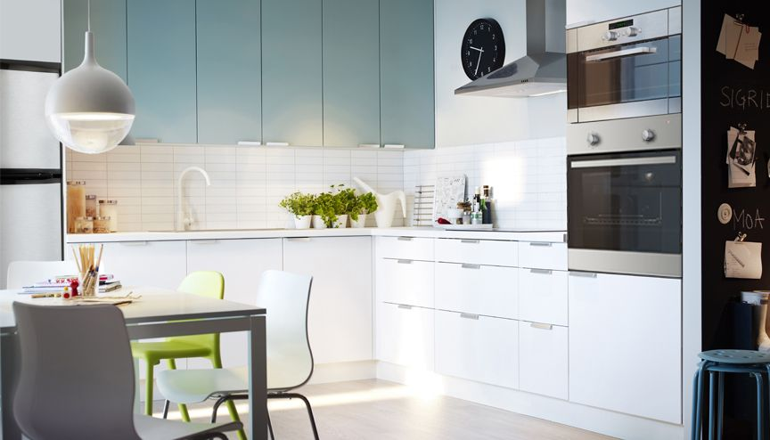 two color kitchen