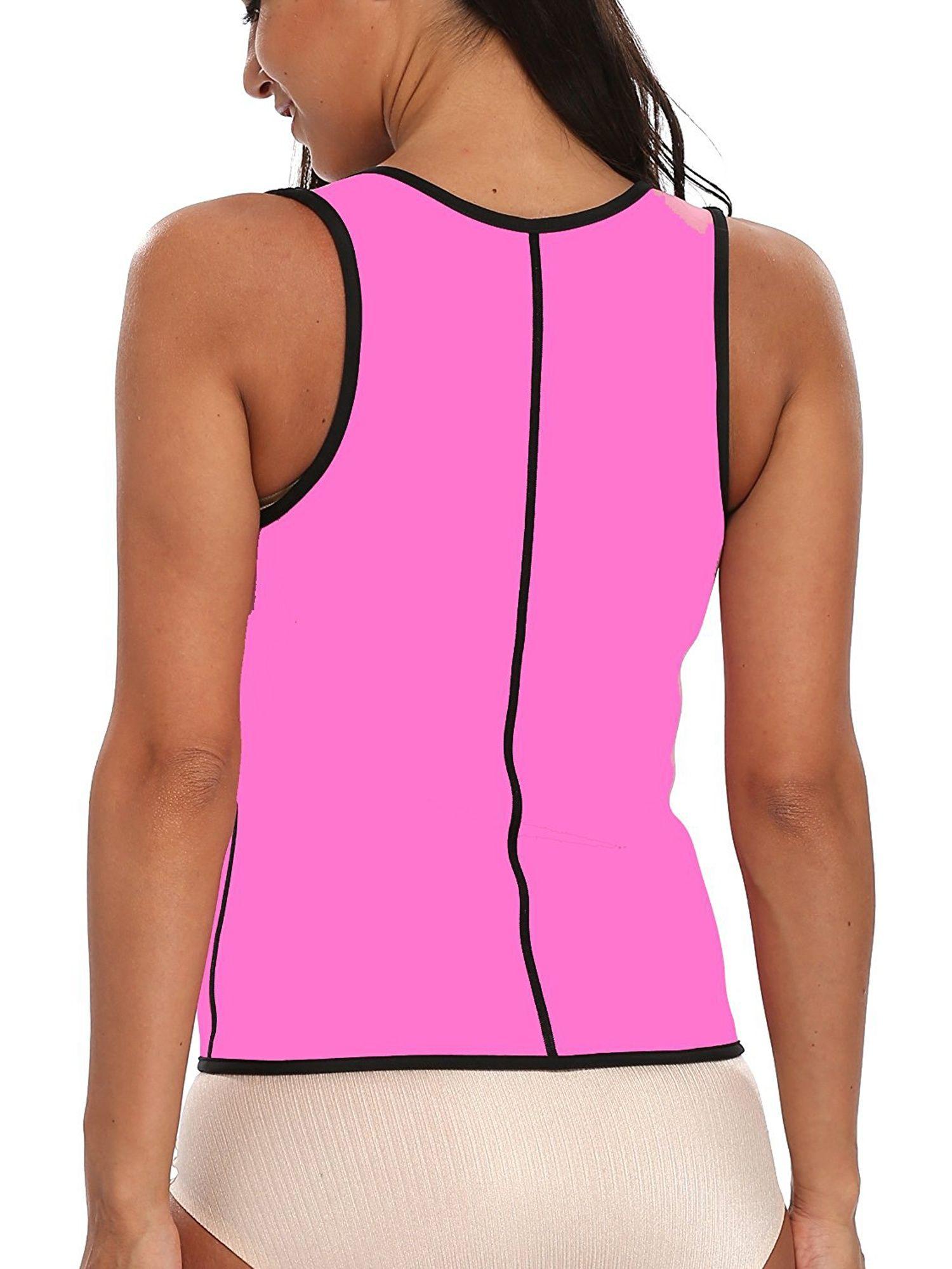 3d087f546a SAYFUT Women s Slimming Vest Hot Sweat Neoprene Shirt Body Shaper Tank Top  Tummy Control Waist Trainer