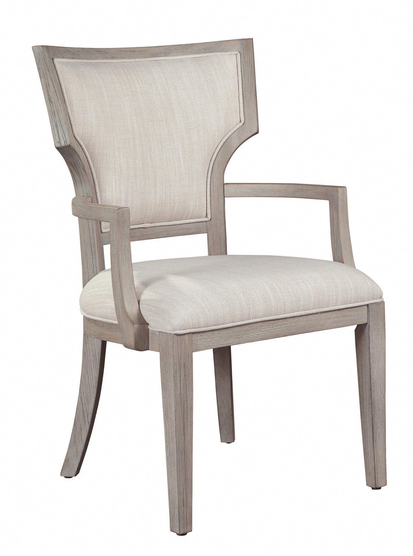 Palisades Arm Dining Chair Fabricdiningchairs Office Waiting Room Chairs Floor Protectors For