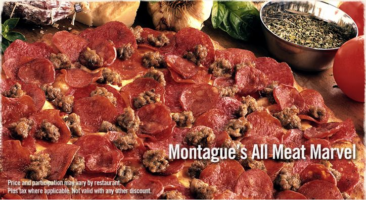 Round Table Pizza Delivery.Round Table Pizza All Meat Marvel Comfort Foods Pizza Pizza