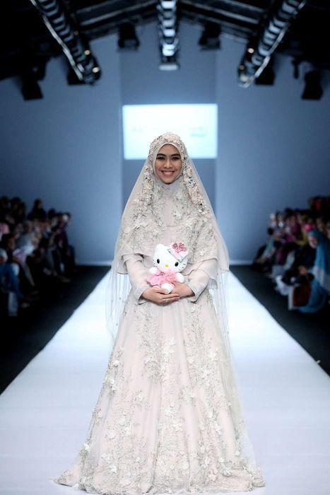 Oki Setiana Dewissone Indonesian Islamic Fashion In 2019 Wedding