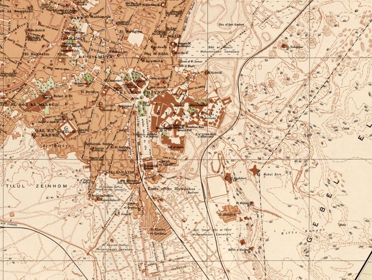 Old Map Of Cairo Egypt OLD CITY MAPS Pinterest Cairo Egypt - Map of egypt 1920