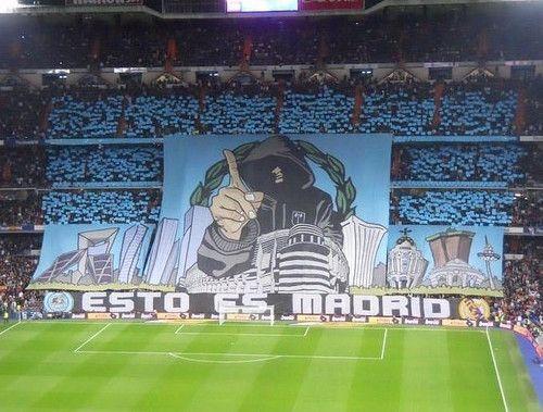 Real Madrid Tifo: Esto es MADRID!!!