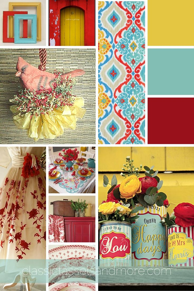 A February Mood Board Decorating With