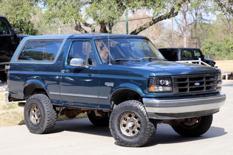 1995 Green Ford Bronco Only 88k Miles 23995 Ford Bronco Jeep