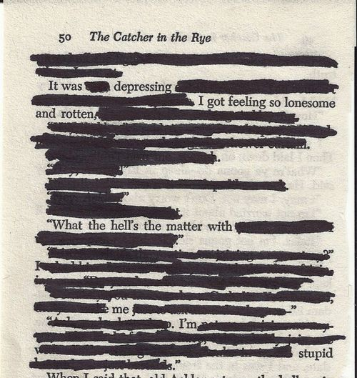 catcher in the rye depression quotes