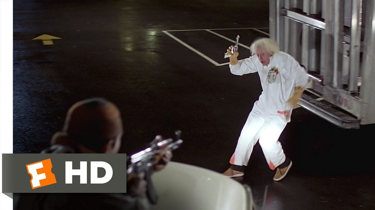 Back To The Future 2 10 Movie Clip The Libyans Find Doc Brown