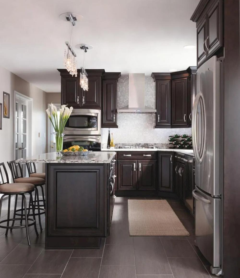 Super Modern Stainless Steel Kitchen Design For