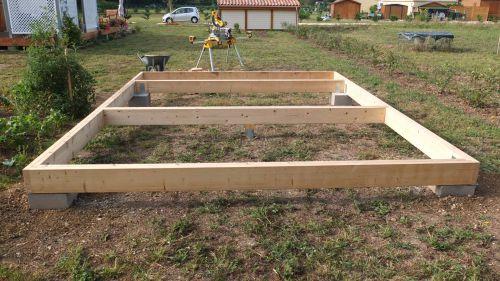Autoconstruction Abri De Jardin Ou Chalet En Ossature Bois