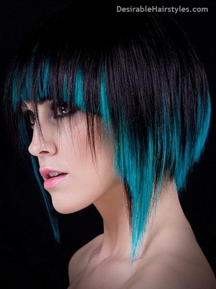 15 Ideas Of Ideal Short Haircuts Short Short Hair Styles Blue Hair Highlights Hair Styles