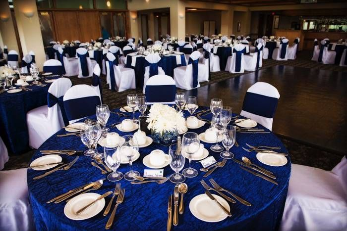 Royal Blue And Black Wedding Decor Calgarybrideca Cb Blog Cobalt Blue And Black Calgary