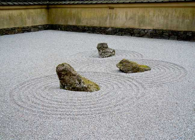 Japanese Stone Garden   Google Search