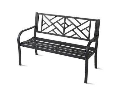 Superb Gardenline Slat Garden Bench Aldi Us Aldi In 2019 Aldi Ibusinesslaw Wood Chair Design Ideas Ibusinesslaworg