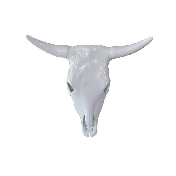 Cow Skull Large Ceramic Cow Skull Wall Decor Cow Skull Skull Wall Decor Nguni Cows