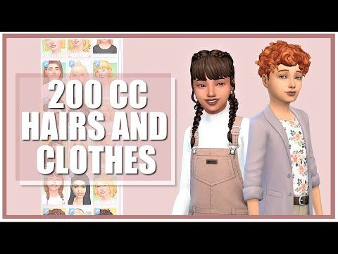 MAXIS MATCH KIDS CC COLLECTION + LINKS (without ad.fly) | Sims 4 CC Showcase