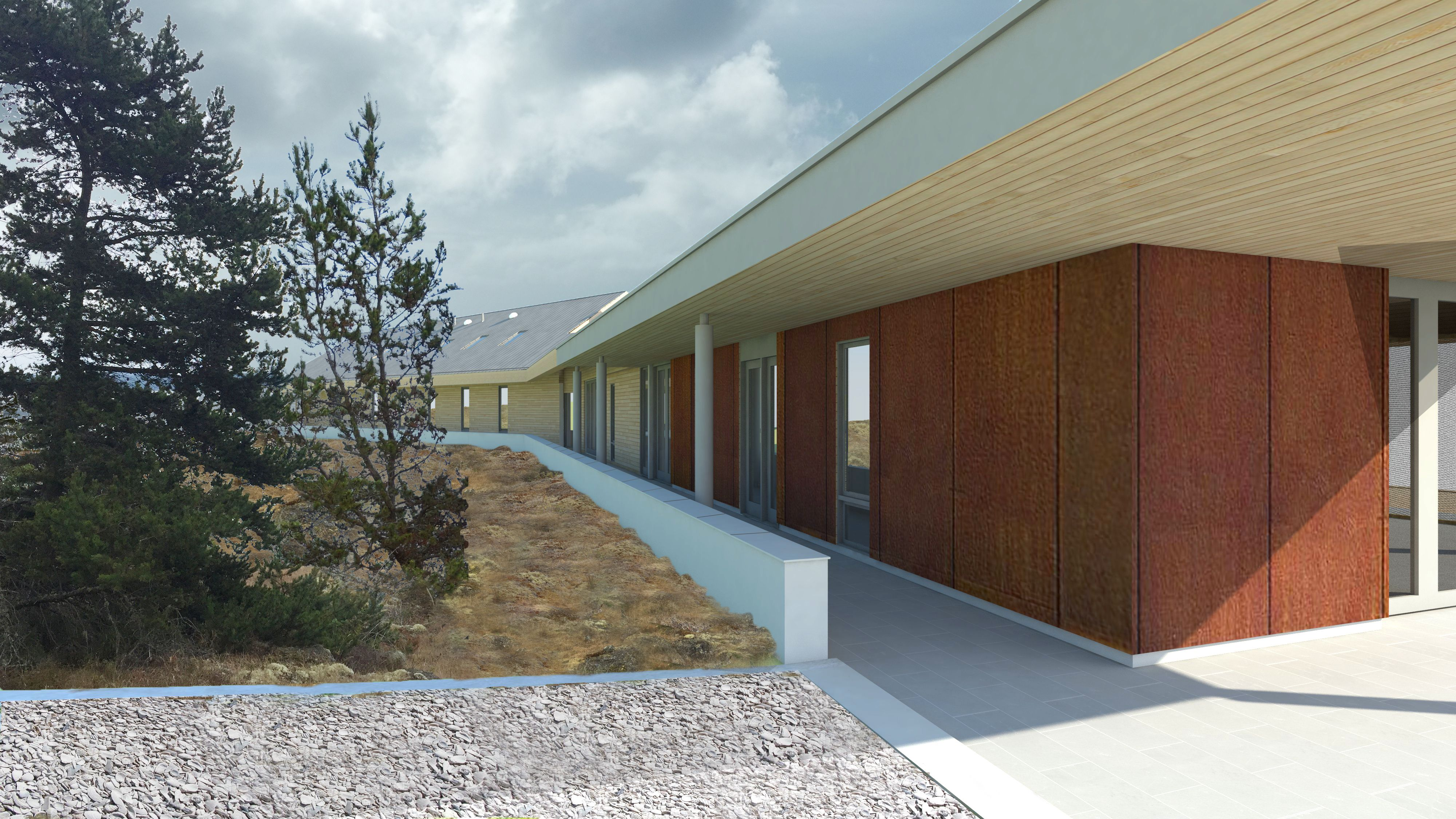SPG Architects :: Work : Current Work : San Juan Island House
