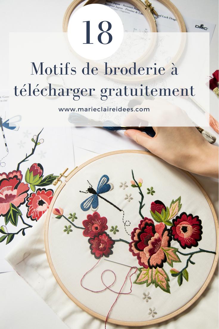 Broderie 1000 Motifs Gratuits Pour Broder Comme Une Pro