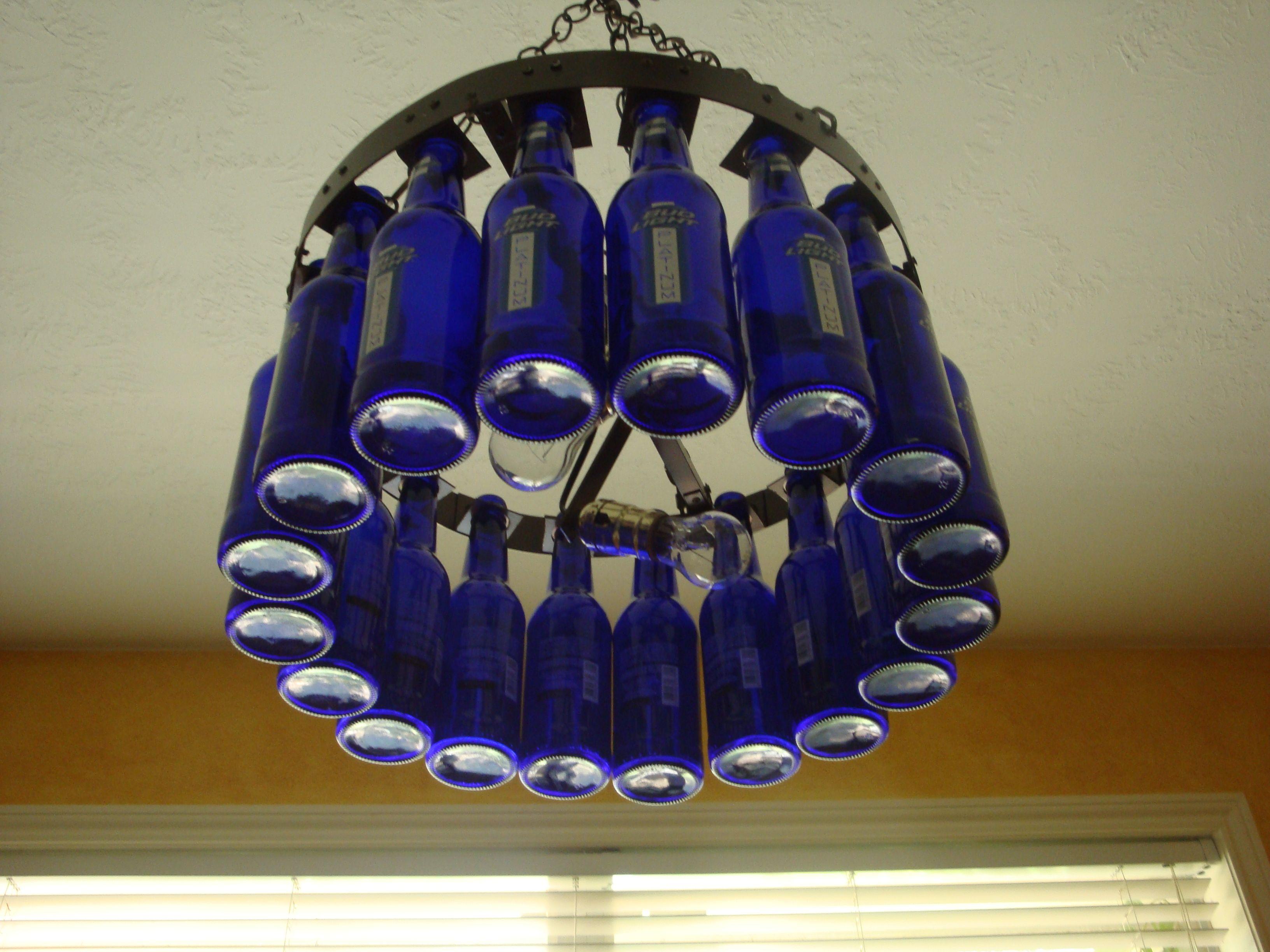 Beer bottle chandelier kit 13500 beer bottle lights and beer bottle chandelier kit 13500 aloadofball Gallery