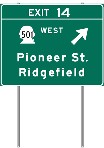 Pin On Washington Freeways Highways And Road Signs