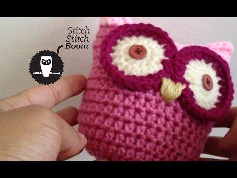 Cute Little Amigurumi Owl : Crochet baby owls pattern video lots of cute ideas owl crochet