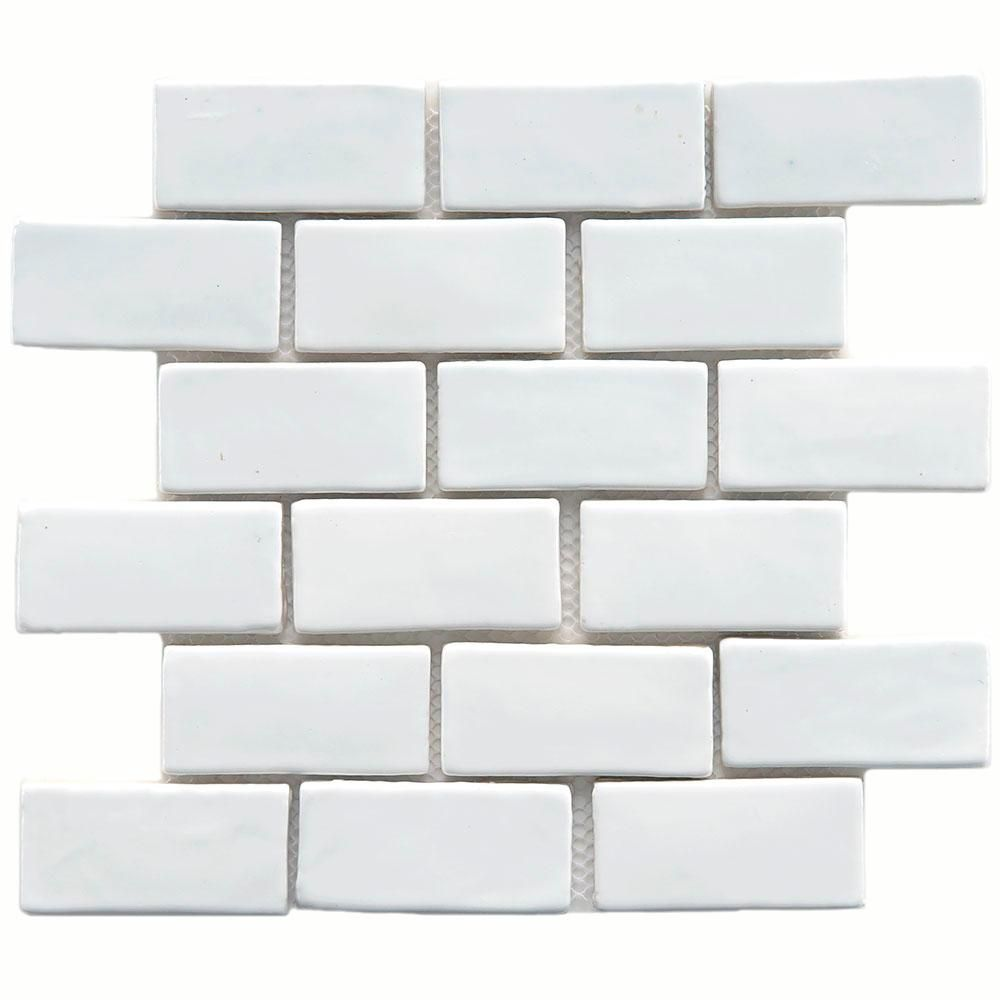 Merola tile cobble subway white 12 in x 12 in x 13 mm ceramic merola tile cobble subway white 12 in x 12 in x 13 mm ceramic dailygadgetfo Images