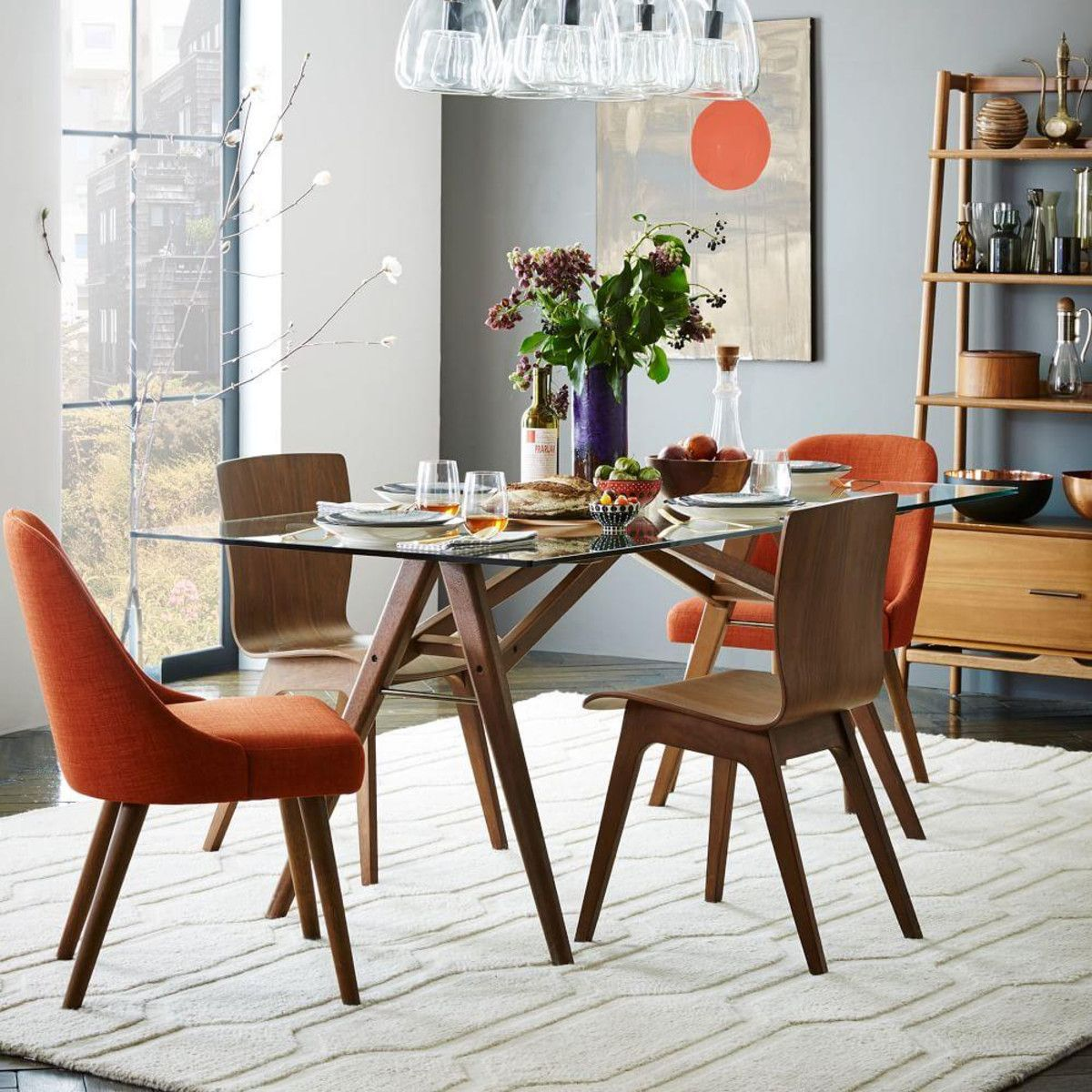 dining table glass dining room table west elm 77 Choosing The Right And Fitting Dining Room Table id=72762