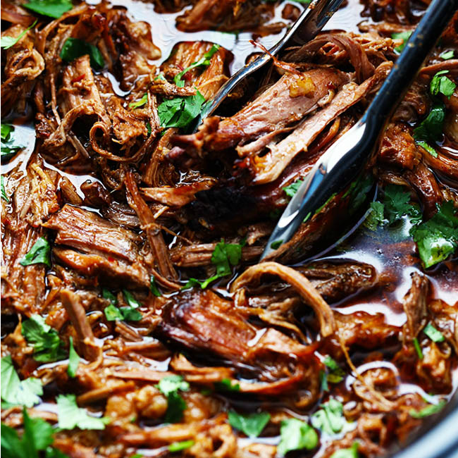 Quick and Easy Slow Cooker Barbacoa Beef   The Rec