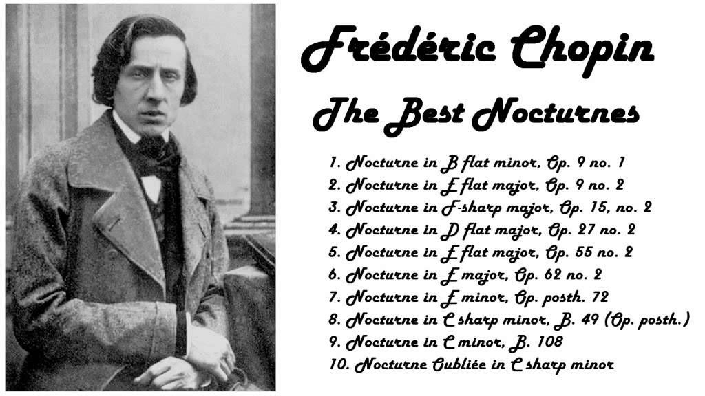 Frédéric Chopin - The Best Nocturnes in 432 Hz tuning
