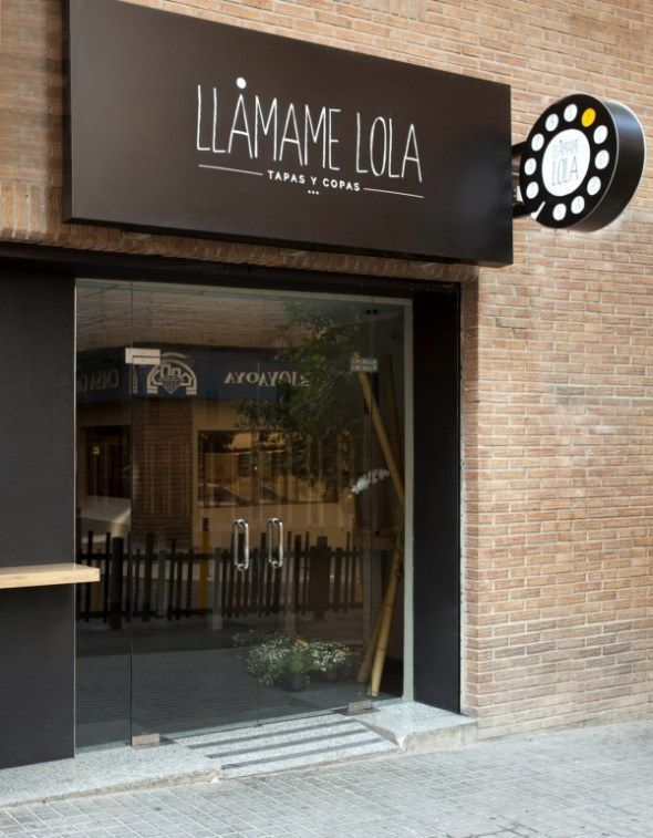 Fachada local comercial store fronts pinterest for Fachadas de almacenes modernos