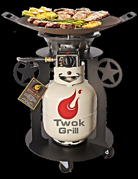 Texas Wok Hibachi Plow Disc Cooker Cowboy Wok Blade Cooker Outdoor Hibachi Grill Cowboy Wok Backyard Grilling