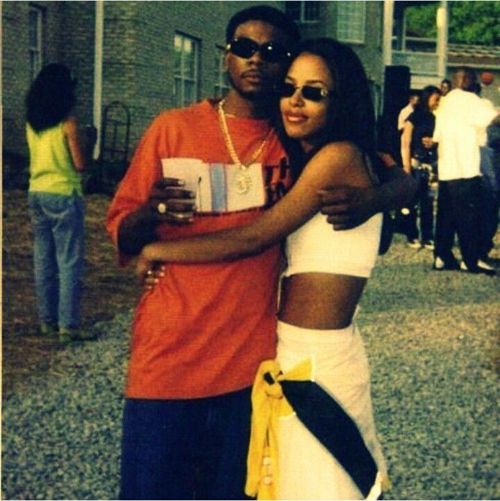 Aaliyah and Static Major | Aaliyah, Aaliyah haughton, Aaliyah style