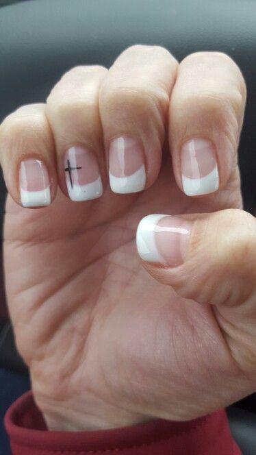 Easter Christian Cross Finger Nails L Pinterest Nails