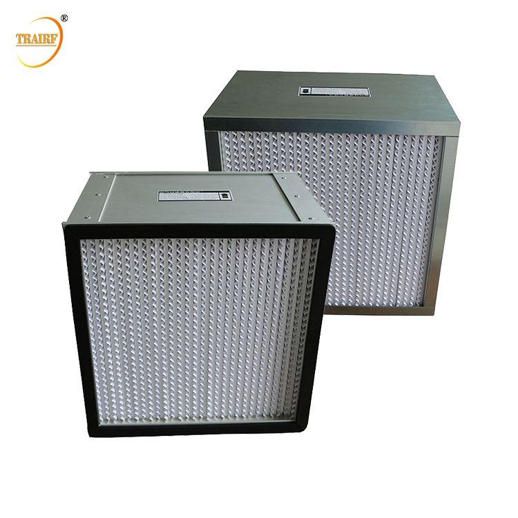 Deep Pleat Hepa Filter H13 320x320x220mm Separator Type Hepa Air Filter Hepa Filter Carbon Air Filter