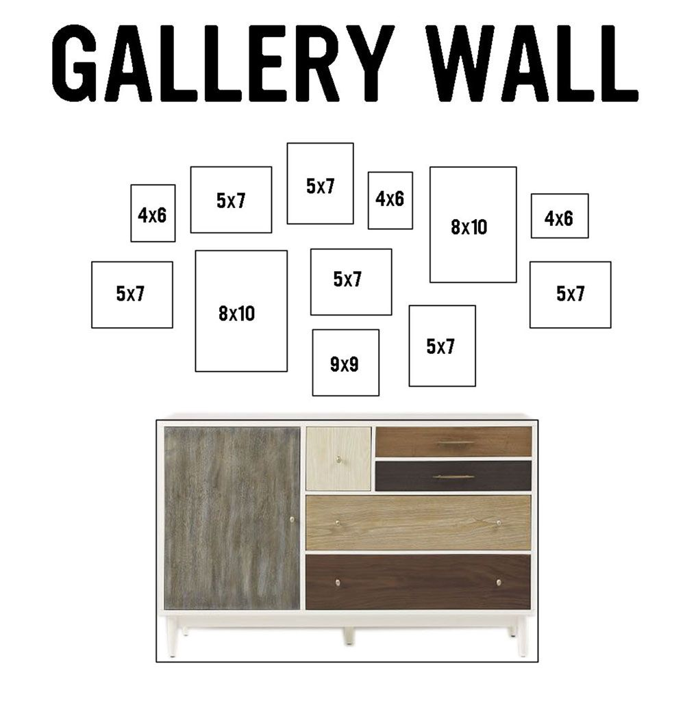 Gallery Wall Design designnumbers | planes trains and a baby boy | virtual