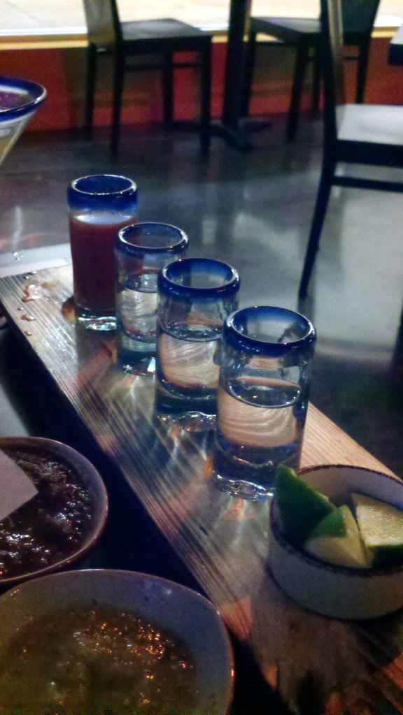 Tequila Flight @ TQLA in Houston (Washington Ave.)
