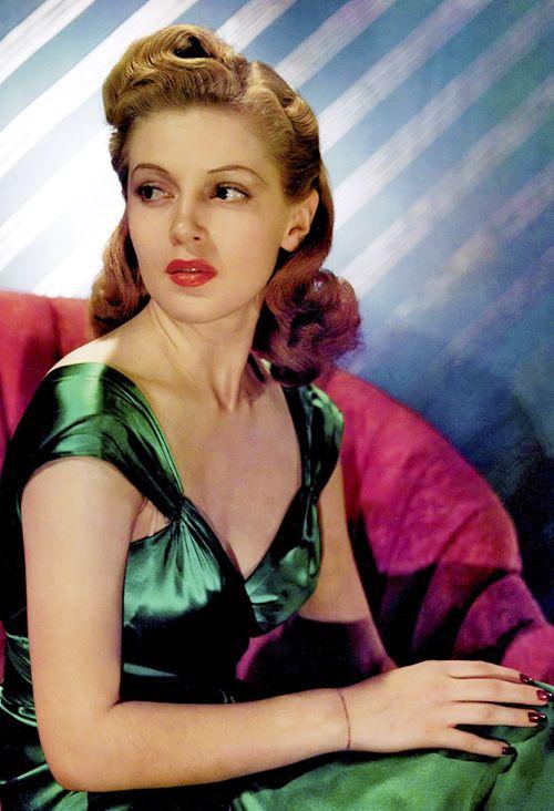 Lana Turner 1940s Hairstyles Rockabilly Hair Hair Styles