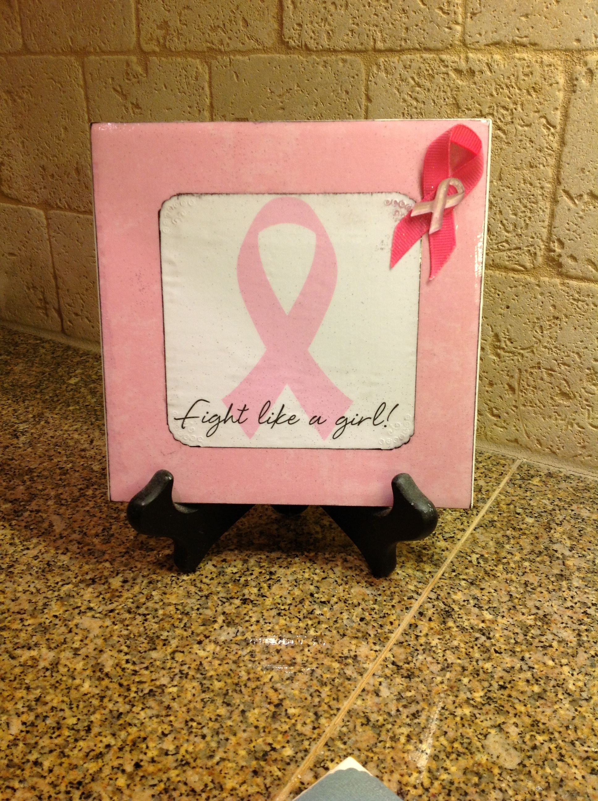 6x6 ceramic tile cancer ribbon theme heavy pink card stock with 6x6 ceramic tile cancer ribbon theme heavy pink card stock with white paper with dailygadgetfo Gallery