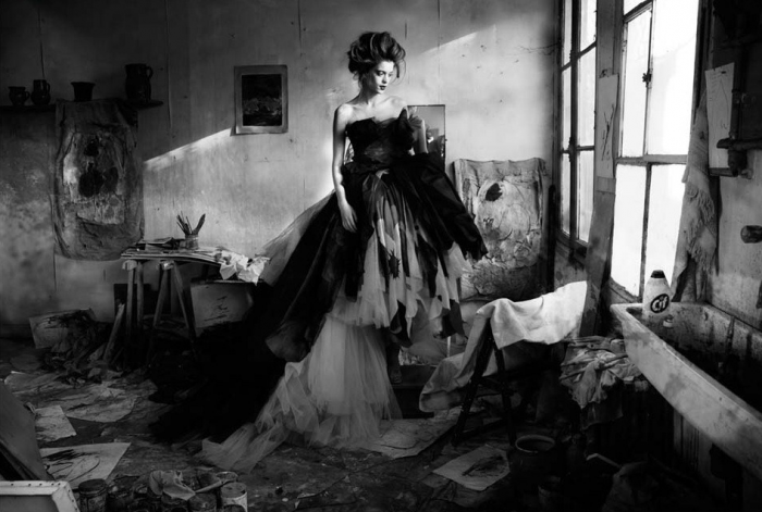 'Death Of A Painter' by Simon Procter for Dior Couture - Bloom Magazine.