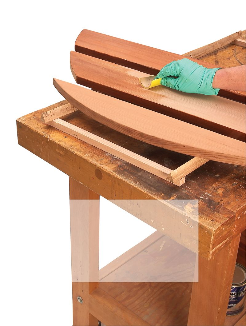 Whatu0027s The Best Wood Finish For Outdoor Furniture?