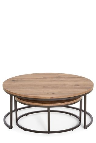 Buy Bronx Coffee Nest Of Tables From The Next UK Online Shop