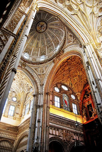 18 Córdoba Mezquita Interior Catedral Crucero D Y Capilla Mayor 15587 Cathedral Spain Barcelona Cathedral