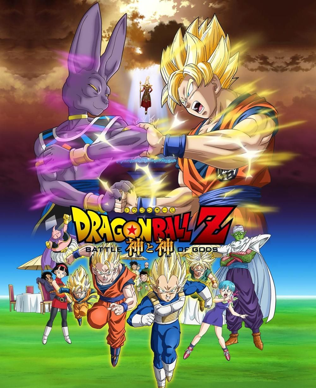 Dragon ball Z Battle of gods Peliculas de dragones