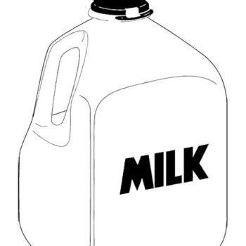 Milk Jug Clipart Dairy Coloring Pages 16 Jpg Milk Jug Coloring Pages Clip Art