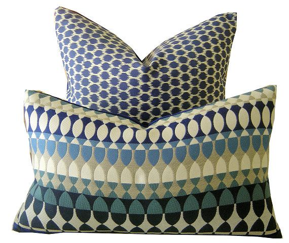High Quality QUITO LUMBAR Sunbrella Pillow Covers By California Livin Home, $47.00 Each