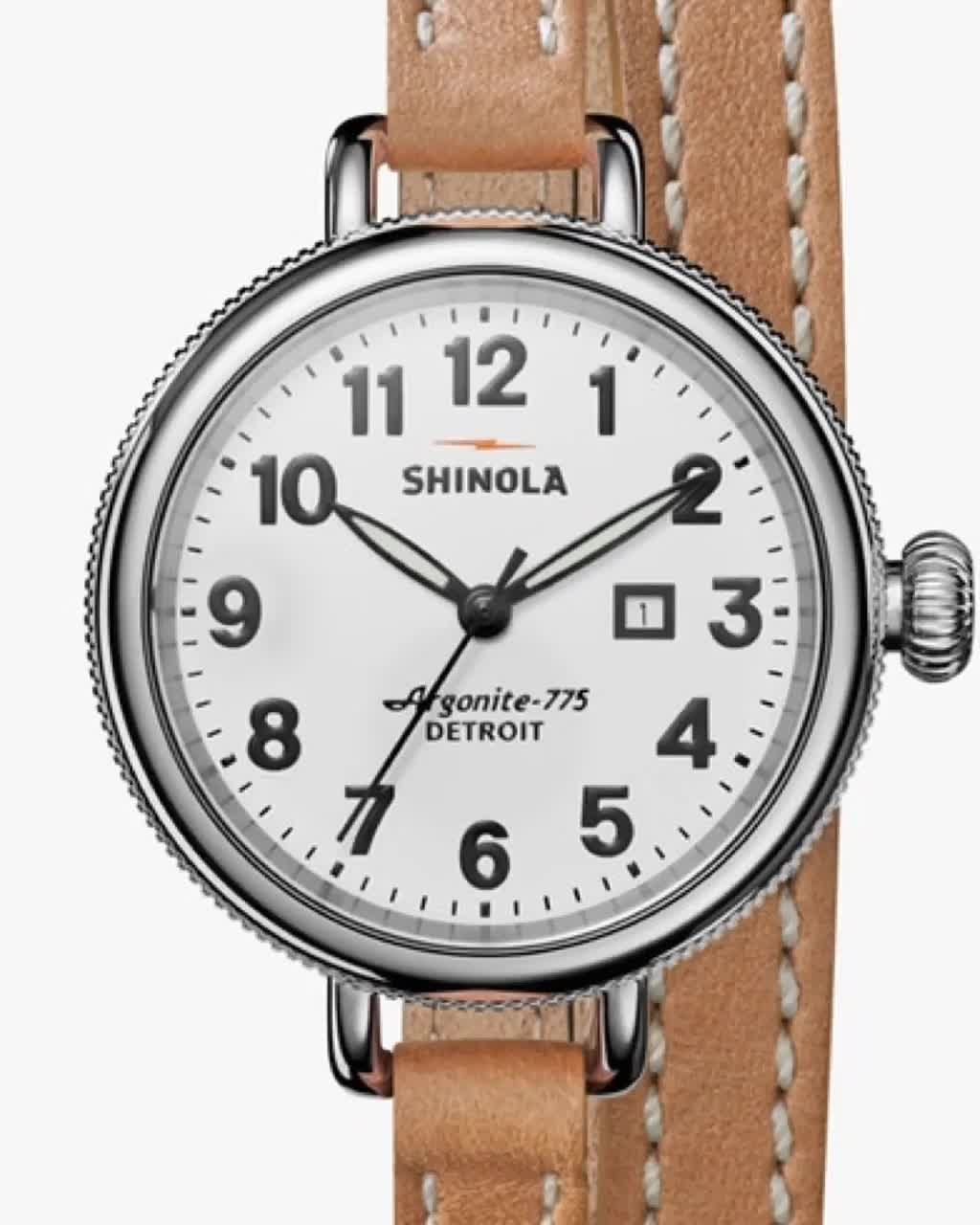 Casual Done Right!  #Shinola Exclusively at #FacetFoundryJewelry! #shoplocal #Gastonia