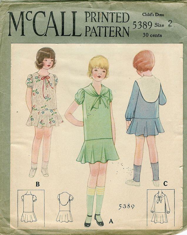 Patterns - Girls | sew-vintage children | Pinterest | Patterns ...