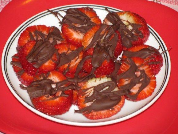 Choco strawberries